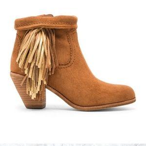 Sam Edelman Louie Suede Booties Brown Tan Boot 8.5